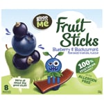 Goodness Me Fruit Sticks Blueberry Blackcurrent 8 Bars 8pk