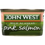 John West Wild Alaskan Pink Salmon 210g