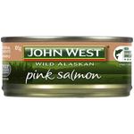 John West Wild Canadian Pink Salmon 105g