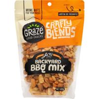 Graze Crafty Blends Backyard BBQ Mix 400g