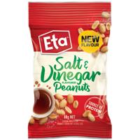 Eta Salt & Vinegar Flavoured Peanuts 60g