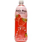Mogu Mogu Strawberry Juice With Nate De Coco 1l