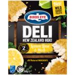 Birds Eye Lemon Lime & Herb Deli New Zealand Hoki 260g