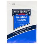 McKenzie's McKenzies Gelatine Leaves 20g