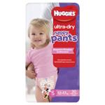 Huggies Ultra Dry Nappy Pants Girls 12-17kg Walker 30ea