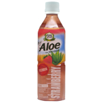 Pure Plus Strawberry Aloe Vera Drink 500ml