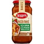 Leggo's Pizza Supreme Mushroom Onion Capsicum Pasta Bakes 500g