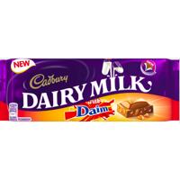 Cadbury Dairy Milk with Diam Chocolate Block 120g