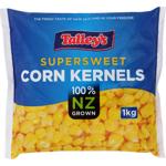 Talley's Talleys Supersweet Corn Kernels 1kg