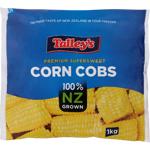 Talley's Premium Supersweet Corn Cobs 1kg