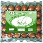 Bennik's 6 Jumbo Cage Free Eggs 30ea