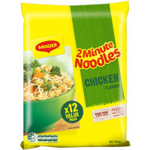 Maggi 2 Minute Instant Noodles Multi Pack Chicken Flavour 864g  (72g x 12pk)