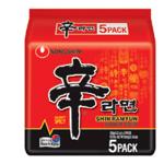 Nongshim Instant Noodles Multi Pack Shinramen 600g (120g x 5pk)