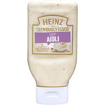 Heinz Aioli Lite squeeze bottle 295ml