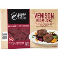Silver Fern Farms Venison Steak Medallions 400g 6pk