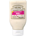 Heinz Seriously Good Aioli Squeezy Garlic Lovers 295ml