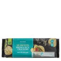 Countdown Rice Crackers Brown Rice Seaweed 100g