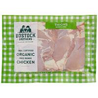 Bostocks Organic Skinless Boneless (min order 650g) per 1kg