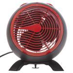 Living & Co Orb Fan Heater Red 2000W