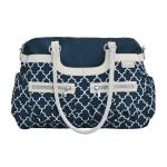 JJ Cole Navy Arbor Satchel