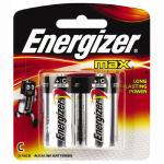 Energizer Max Batteries C 2 Pack