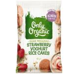 Only Organic Strawberry Yoghurt Rice Cakes