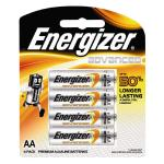Energizer Advanced Battery AA 4 Pack