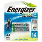 Energizer Eco Advanced AA 2 Pack
