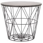 Living & Co Wire Side Table Grey