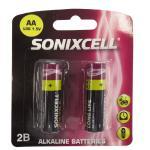 Sonixcell AA Alkaline Batteries 2 Pack