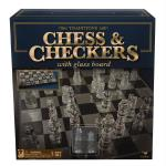 Traditions Glass Chess Set Game