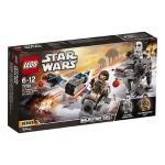 LEGO Star Wars Ski Speeder vs First Order Walker Microfighters 75195