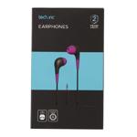 Tech.Inc In-Ear Earbuds Purple
