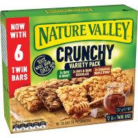 Nature Valley Crunchy Muesli Bars Variety Pack 252g (21g x 12pk)