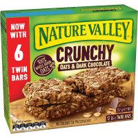 Nature Valley Crunchy Muesli Bars Oats & Dark Chocolate 252g (21g x 12pk)