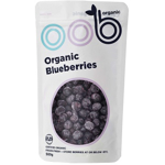 Oob Organic Blueberries Frozen 1kg Bulk Bag