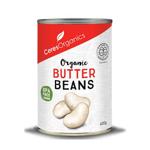 Ceres Organics Butter Beans Can 400g