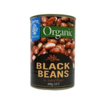 Chantal Organic Black Beans 400g