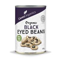 Ceres Organics Black Eyed Beans Can 400g