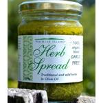 Waiheke Island Herb Spread Organic Garlic Free 200g