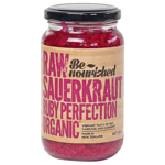 Be Nourished Raw Sauerkraut Ruby Perfection 380g