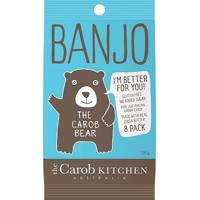 Banjo Carob Milk Bear 8pk Bag 120g