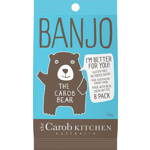Banjo Carob Milk Bear 8pk Bag 120g