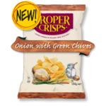 Proper Crisps Onion & Green Chives 40g