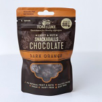Tom & Luke Dark Orange Chocolate Snackballs 88g