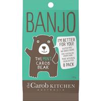 Banjo Carob Mint Bear 8pk Bag 120g