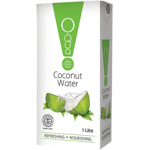 Oqua Organic Coconut Water 1L 3pack