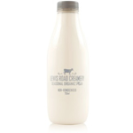 Lewis Road Organic Non Homogenised Milk 750ml