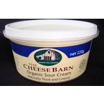 The Cheese Barn Organic Sour Cream 220ml