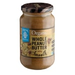 Chantal Organics Whole Peanut Butter Smooth 400g